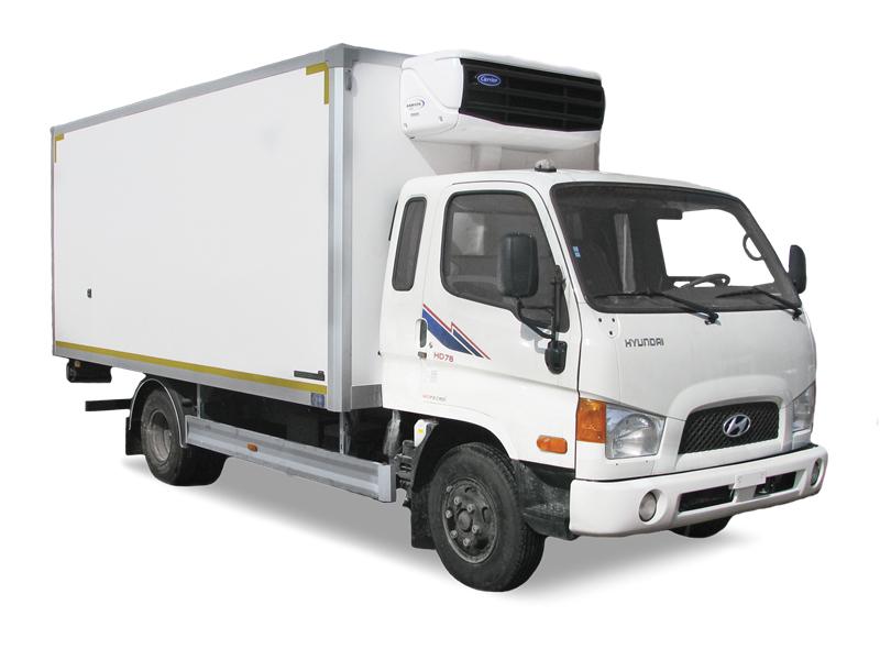 Hyundai рефрижератор 4.7 тонн
